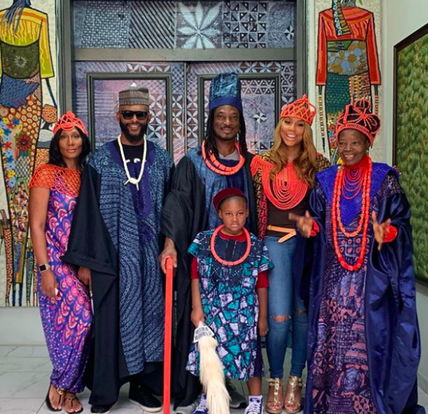 Tamar Braxton Travels To Nigeria To Meet Boyfriend David Adefeso's Family