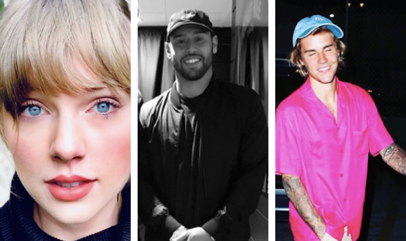 Taylor Swift Says She Is 'Grossed Out' That Scooter Braun Bought The Masters To Her Music W/Out Her Knowing, Justin Bieber Says She's 'Crossing A Line'