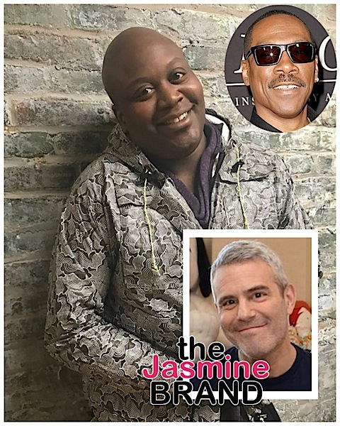 Tituss Burgess Calls Andy Cohen Ratched & A Messy Queen Over Eddie Murphy Question