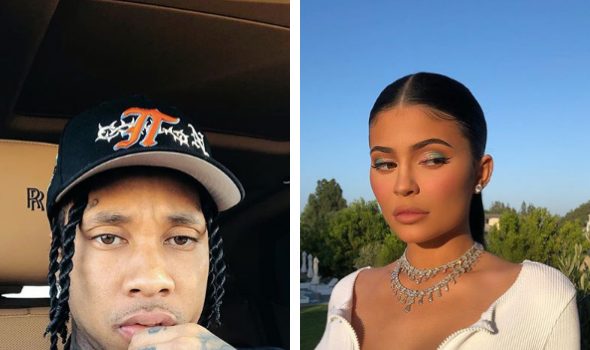 Tyga Breaks His Silence Amid Rumors of Hooking-Up w/ Ex Kylie Jenner