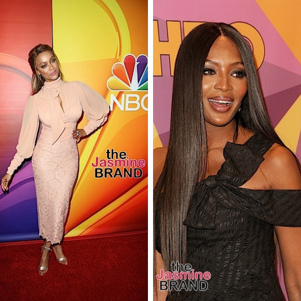 Tyra Banks On Rumored Feud W/ Naomi Campbell 'A Woman I Was Looking Up To Was Doing Everything In Her Power To Make Me Go Away' [VIDEO]