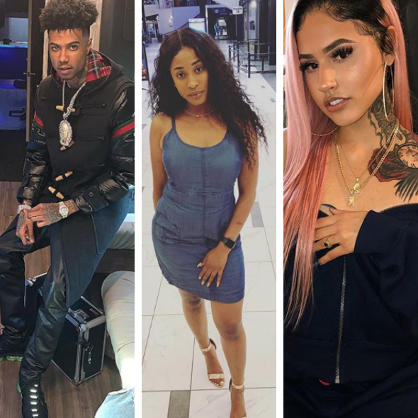 Blueface Kicks His Mom & His Sister Out Of His House After Saying His Girlfriend Refuses To Say Hello [VIDEO]