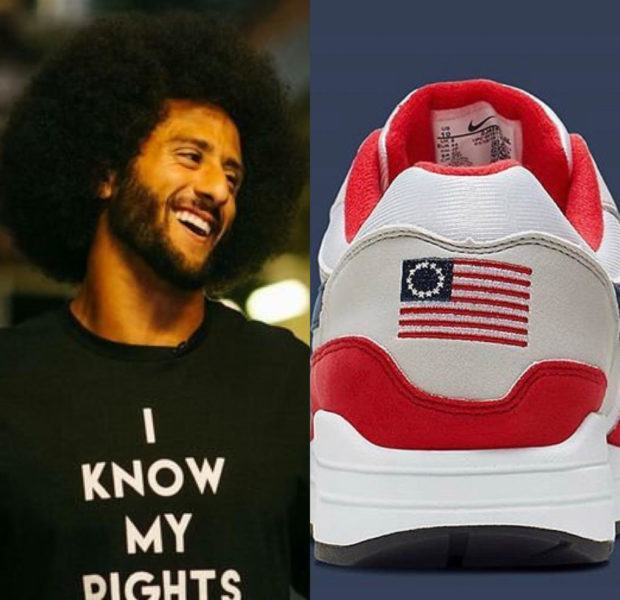 Nike Pulls Flag Sneakers After Colin Kaepernick Raises Concern Over Its Slavery Ties, Conservatives React