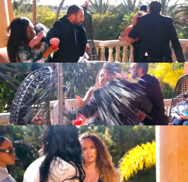 Basketball Wives' Evelyn Lozada Lashes Out In Explosive Altercation W/ Jennifer Williams & Newbie Dominique Lenard