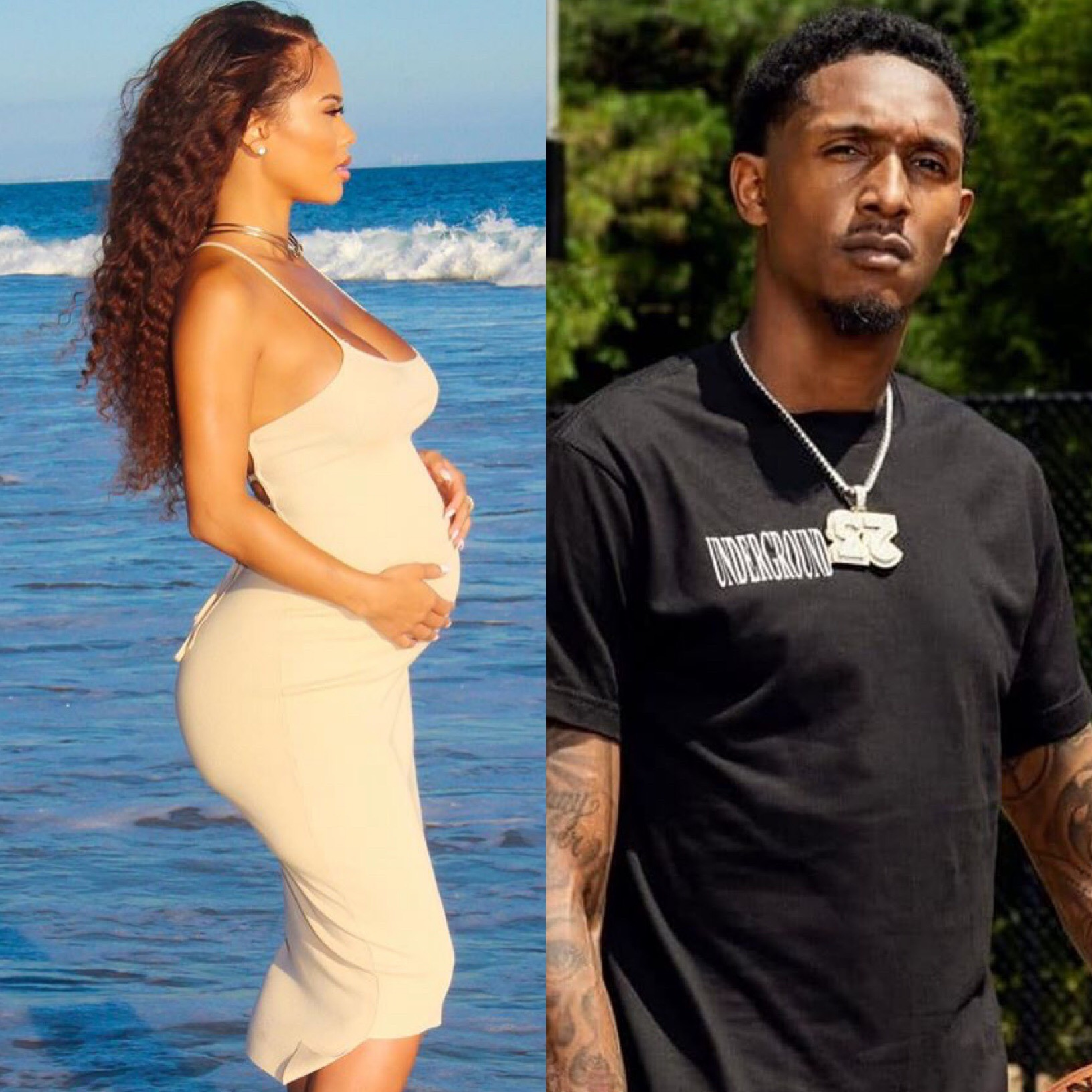 Rece Mitchell Announces She's Pregnant, Is NBA Star Lou Williams The Father? - theJasmineBRAND