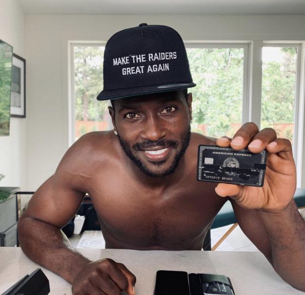 NFL Star Antonio Brown Refuses To Play For Oakland Raiders Unless He Wears Former Helmet