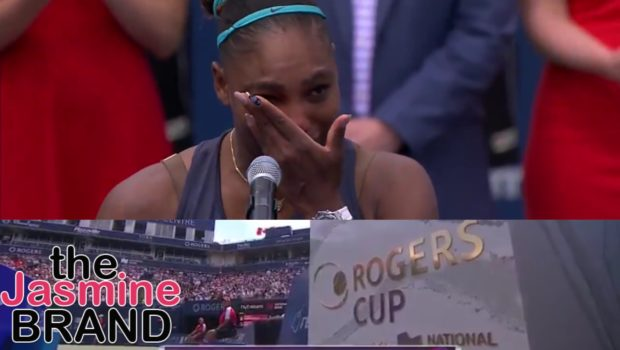 Serena Williams Becomes Emotional After Ending Match Due To Injury