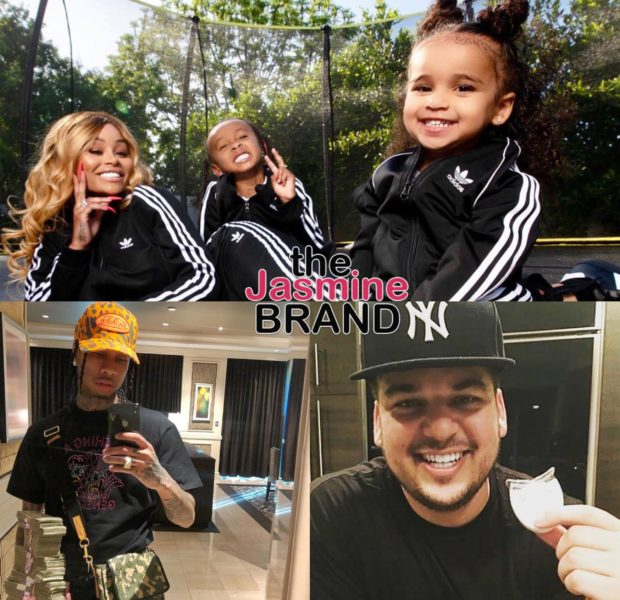 Blac Chyna: I Don't Get Child Support From Tyga Or Rob Kardashian!