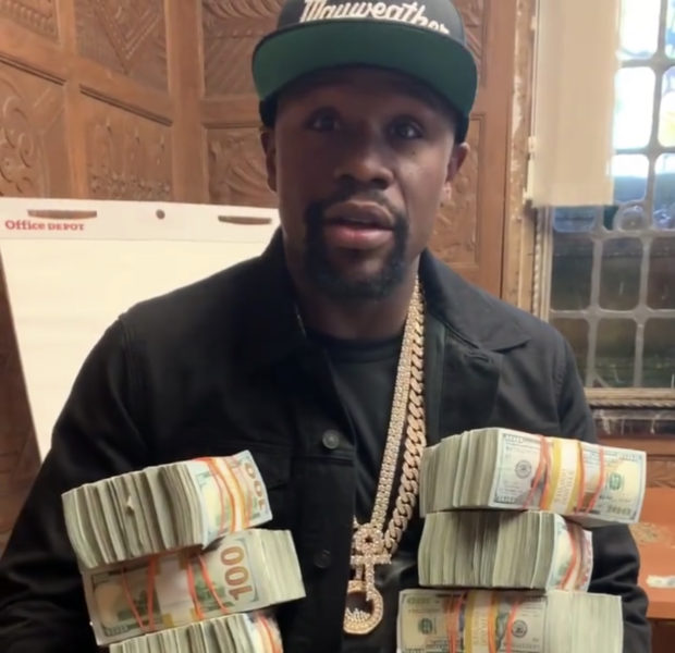 Floyd Mayweather Was Paid $2 Million For 10 Second Promo Video For Pacquiao Rematch