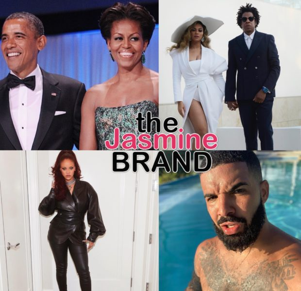 Beyonce, Jay-z, Rihanna, & Drake Top The Obama's 2019 Summer Playlist