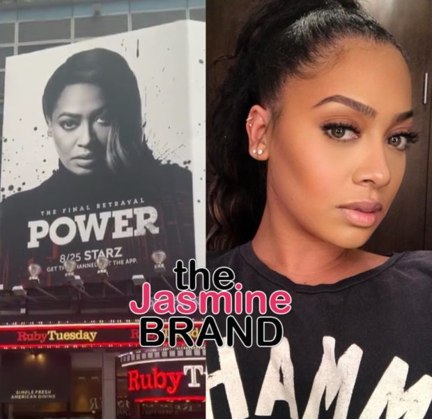 La La Anthony Nearly Brought To Tears After Seeing Her Billboard In Time Square [VIDEO]