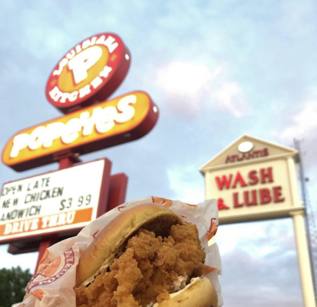 Popeyes Famous Chicken Sandwich Generates Mores Than $60 Million From Social Media, Announces They've Sold Out – For Now