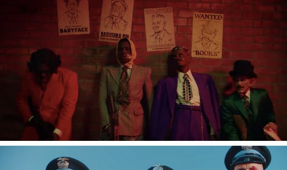 A$AP Plays Bank Robber, Portrays Cops As Pigs In 'Babushka Boi' Video
