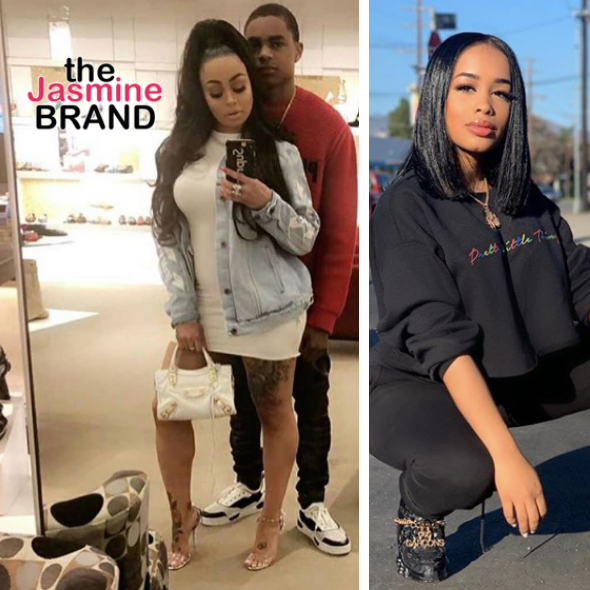 Blac Chyna Reunites With Ex YBN Almighty Jay, His Rumored Girlfriend Dream Doll Responds 'Stop Reporting Back To Me About N***as Actions'