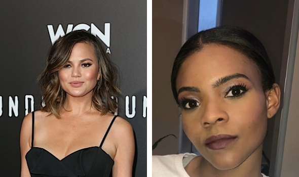 Chrissy Teigen & Candace Owens Trash Each Other 'Go The F**k Away You Soulless Ghoul'