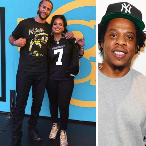 Colin Kaepernick's Girlfriend Nessa Diab Slams Jay-Z: He Helped The NFL Bury Kaepernick, Don't Tell Me There's A Master Plan!