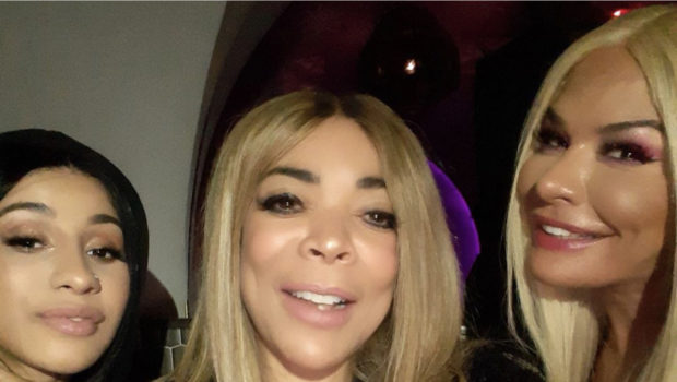 Wendy Williams Parties In NYC With Cardi B