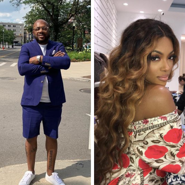 Porsha Williams' Ex-Fiance Dennis McKinley Solicits Fans To Tell Her That He Loves Her, Reality Star Responds
