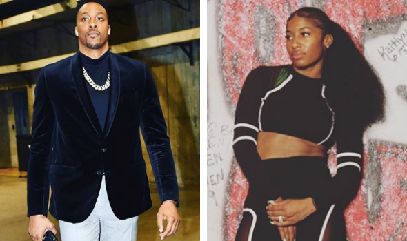 NBA Star Dwight Howard Says He's Engaged To College Basketball Player T'ea Cooper