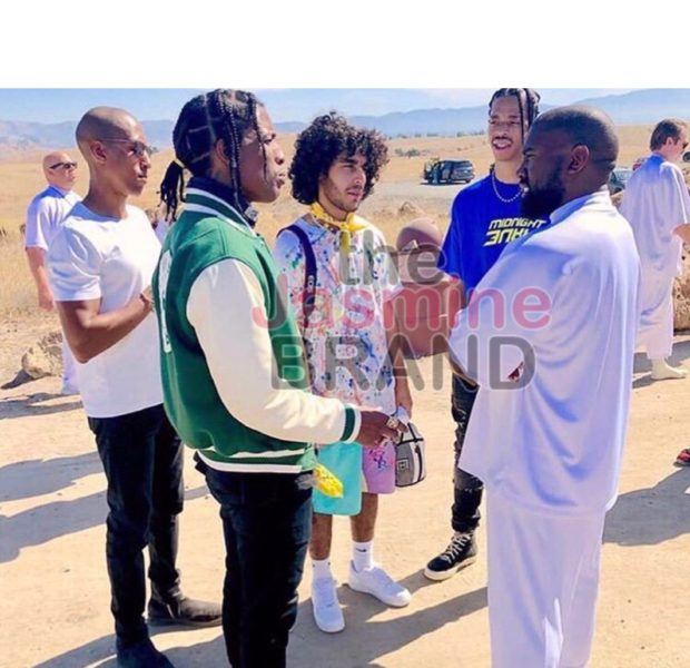 A$AP Rocky Goes To Kanye West's Sunday Service After Being Released From Jail