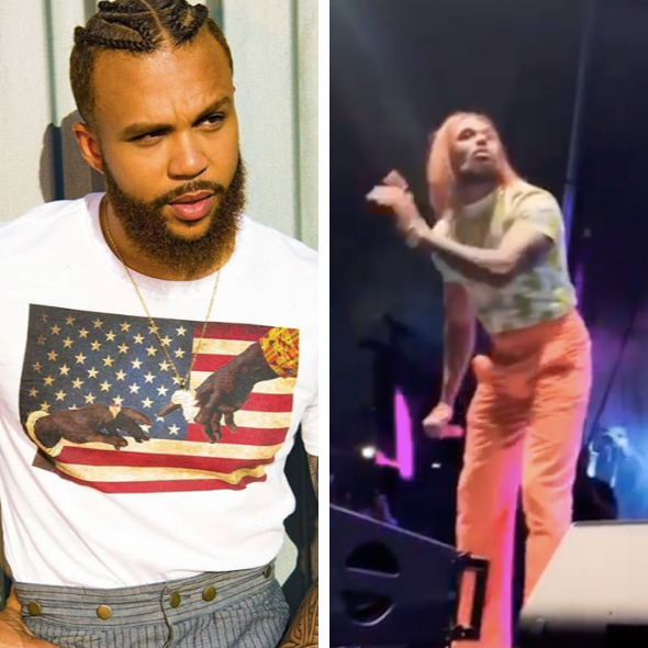 Jidenna Is Rocking Bone Straight Hair & The Reactions Are Hilarious
