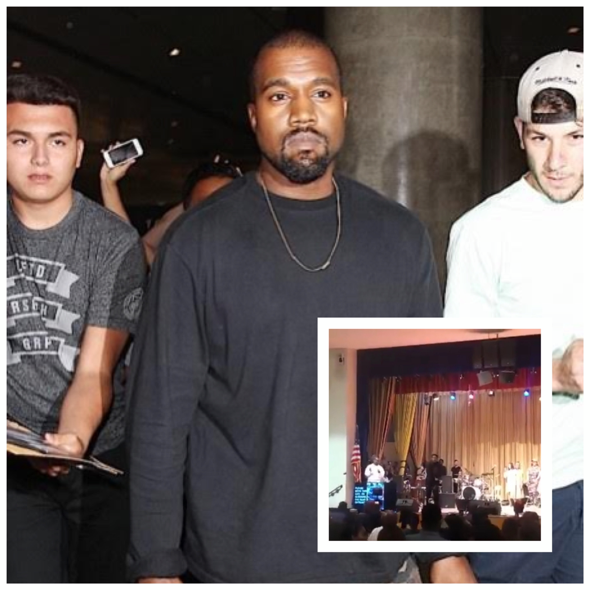 Kanye's Sunday Service Goes To L.A. Church