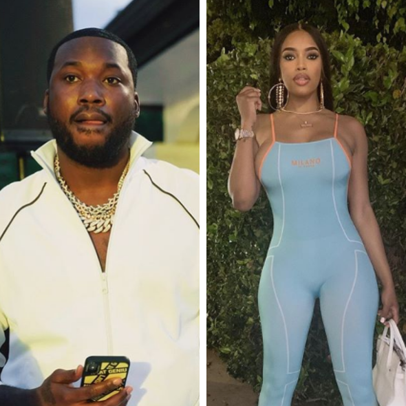 Meek Mill's Rumored Girlfriend Milan Harris Says They're NOT In A Relationship 'That's My Friend'