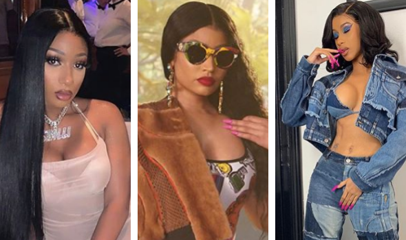 Megan The Stallion Wants People To Stop Comparing Cardi B & Nicki Minaj: They're 2 Different People, I Love Both Of Them!