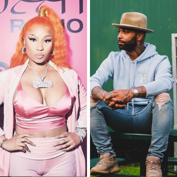 Nicki Minaj & Joe Budden Make Up After Heated Debate, Minaj Tells Him: I Think You're A Big Baby