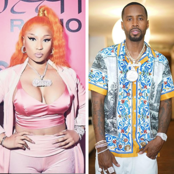 Nicki Minaj Isn't Banned From 'The Breakfast Club'… But Her Ex Safaree Samuels Is