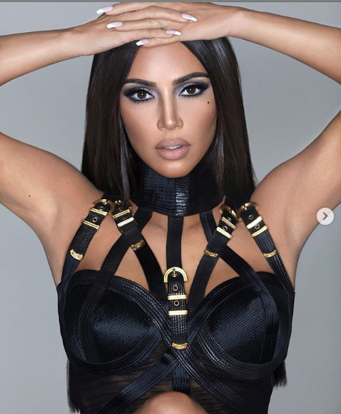 Kim Kardashian Almost Unrecognizable In New Promo Shoot