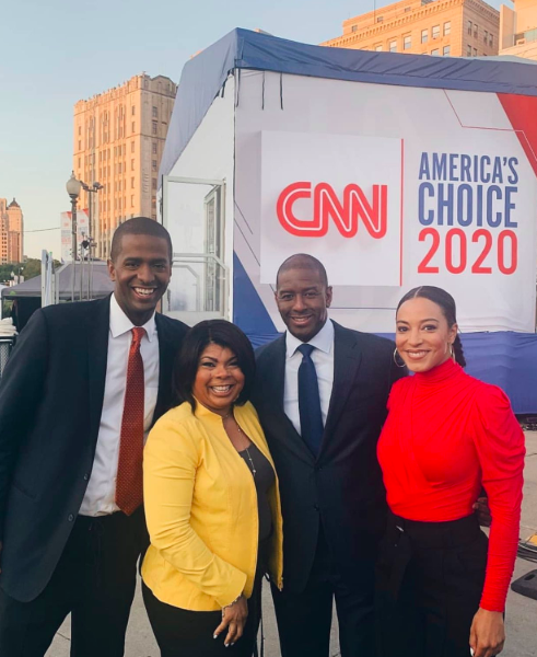CNN To Launch All Black Panel Show Featuring Angela Rye, Bakari Sellers, April Ryan & Andrew Gillum