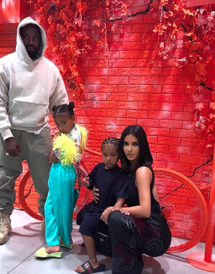 Kim Kardashian & Kanye Bring North & Saint West On Japan Vacay [PHOTOS]