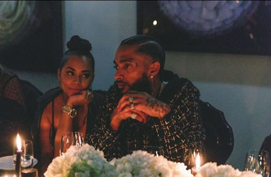 "Lauren London Says ""Long Live My Other Half"" As She Celebrates Nipsey Hussle's 34th B-Day + His Sister, Daughter's Mother & Celebs Pay Tribute"