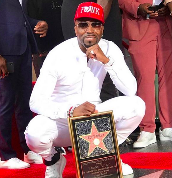 Teddy Riley Gets Star On Hollywood Walk Of Fame: Mc Lyte, Jermaine Dupri, Tank Attend [VIDEO]