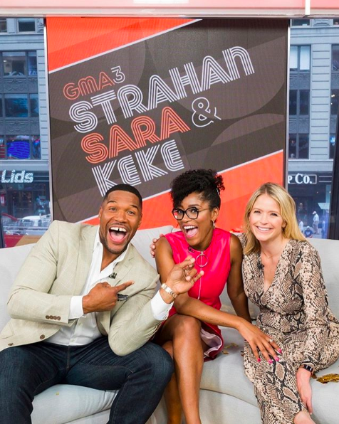 Keke Palmer Officially Joins 'GMA' For New 'GMA3: Strahan, Sara & Keke'