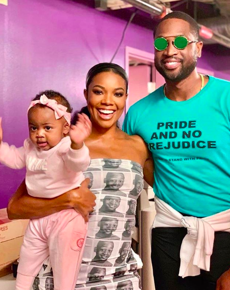 Dwayne Wade & Gabrielle Union's Daughter Hilariously Fails The 'Fruit Snack Challenge' [WATCH]
