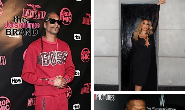 Snoop Dogg Said He Couldn't Get Wendy Williams In 50 Cent's Party 'I Didn't Have That Much Plug'