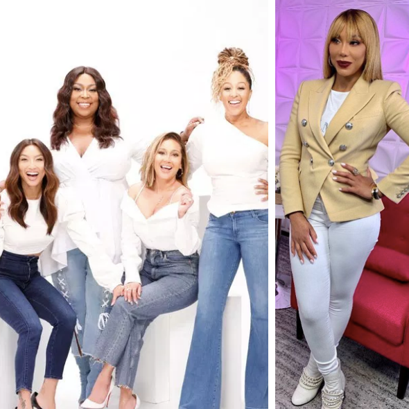 Tamar Braxton Says 'People Were Being Catty Behind My Back' On 'The Real', Ladies Respond: It's Been 3 Years, Why Are You Guys Still Talking About This Situation