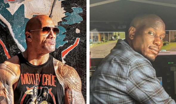 The Rock Seemingly Refers To Tyrese As A Clown, Posts Cryptic Message About Spin-Off