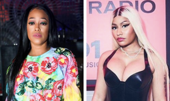 Trina Blasts Her Team For Slamming Nicki Minaj 'Stay Out Of Girl S***… She Did Her Part'