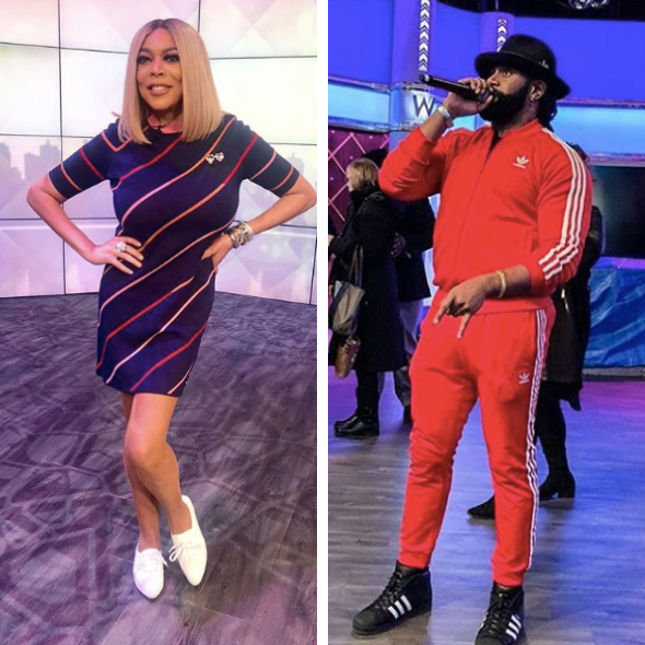 Wendy Williams Laughs Off Mystery Man Rumors After Paparazzi Spots Her W/ Producer