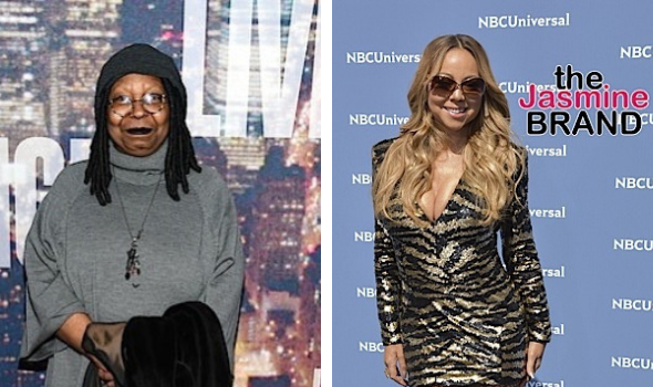 "Whoopi Goldberg Accused Of Body Shaming Mariah Carey, Says Her ""Heartbreaker"" Video Was '20 Bodies Ago'"