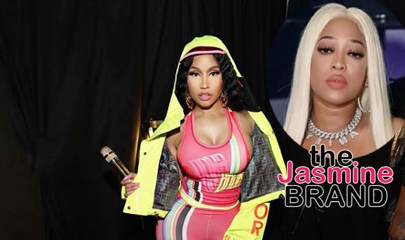 "Nicki Minaj Slammed By Trina's Head of A&R For Not Promoting ""BAPS"", Says She's A Manipulator & Deceiver"