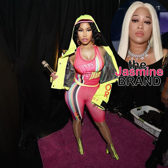 "Nicki Minaj Slammed By Trina's Head of A&R For Not Promoting ""BAPS"", Says She's A Manipulator & Deceiver"