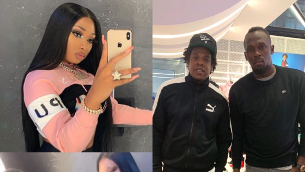 Megan Thee Stallion Hangs Out With Jay-Z, Drives the Boat W/ Fabolous at Puma Event