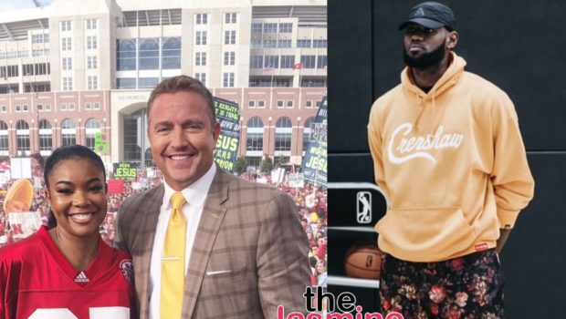 Gabrielle Union Appears On College GameDay, Challenges LeBron James For Taco Tuesday