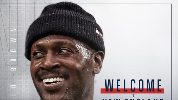 New England Patriots Officially Sign Antonio Brown To $15 Million Deal For 1 Year