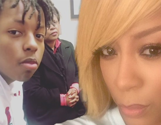 K. Michelle Celebrates Her Son's 15th Birthday w/ New Benz Truck
