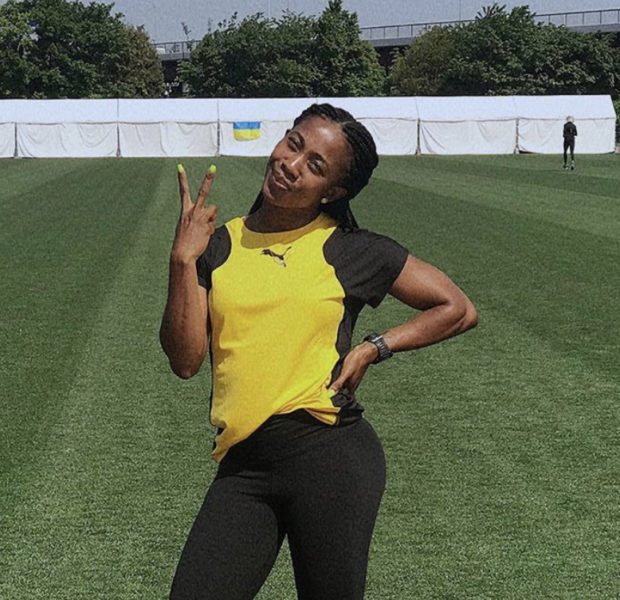 Shelly-Ann Fraser-Pryce, 32, Named Fastest Woman In The World + The Oldest & 1st Mom To Win World Title In Race